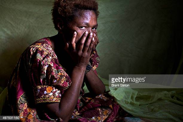 A female rape victim of the security forces at the Porgera Joint Venture gold mine Porgera Papua New Guinea 17 November 2010 This woman was caught by...