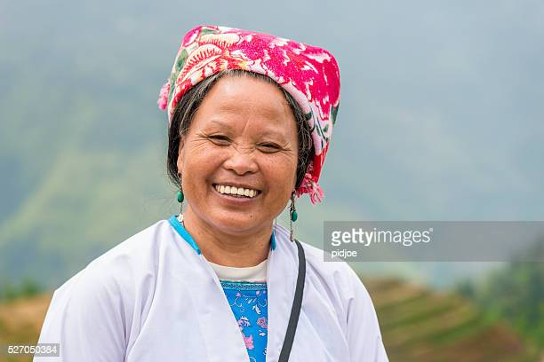 Female Rice farmer Portrait