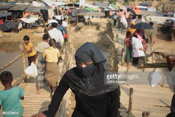 A female Rohingya refugee seen at the refugee camp More than 600000 Rohingya refugees have fled from Myanmar Rakhine state since August 2017 as most...