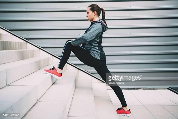 Coureur de femme exercice