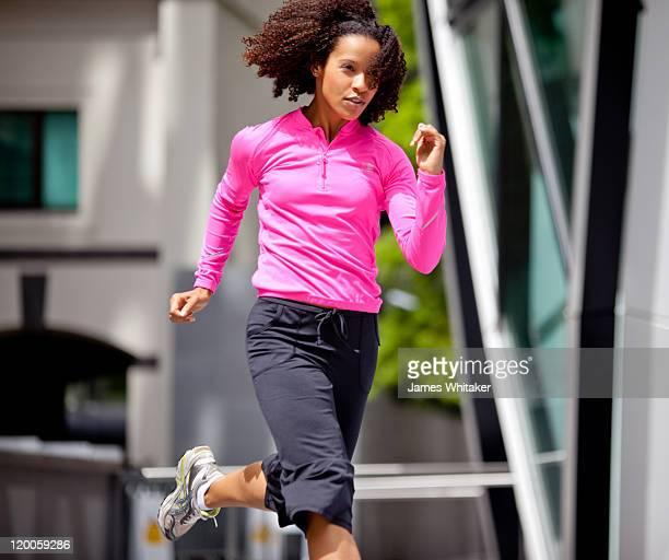 Female Runner in London