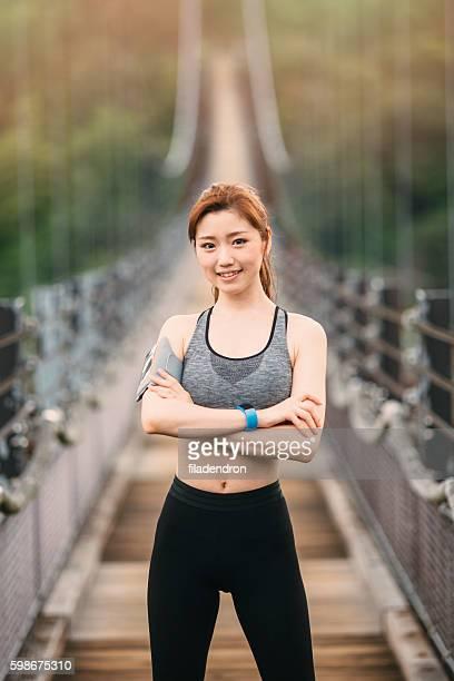 女性ランナーを誇ります。