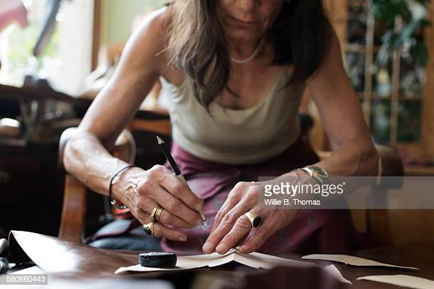 Female Shoemaker cutting Pattern