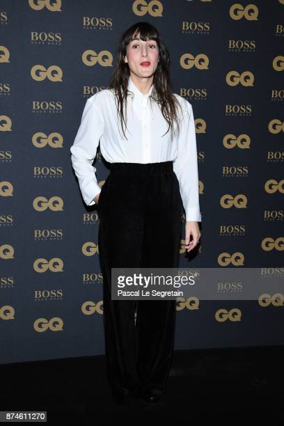 Female singer of the year Juliette Armanet attends GQ Men Of The Year Awards 2017 at Le Trianon on November 15 2017 in Paris France