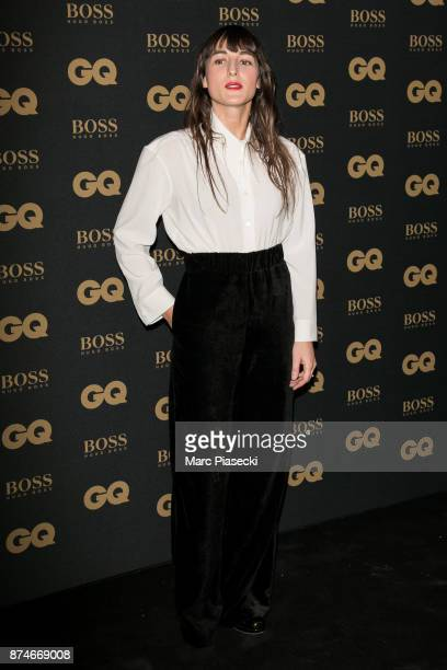 Female Singer of the Year Juliette Armanet attends the 'GQ Men of the year awards 2017' at Le Trianon on November 15 2017 in Paris France