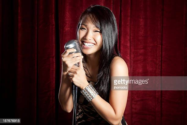 female singer - comedian stock pictures, royalty-free photos & images