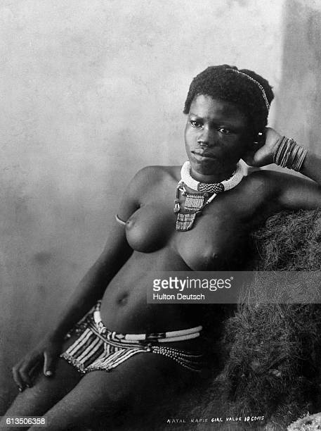 A female slave in South Africa who had a barter value of 10 cows