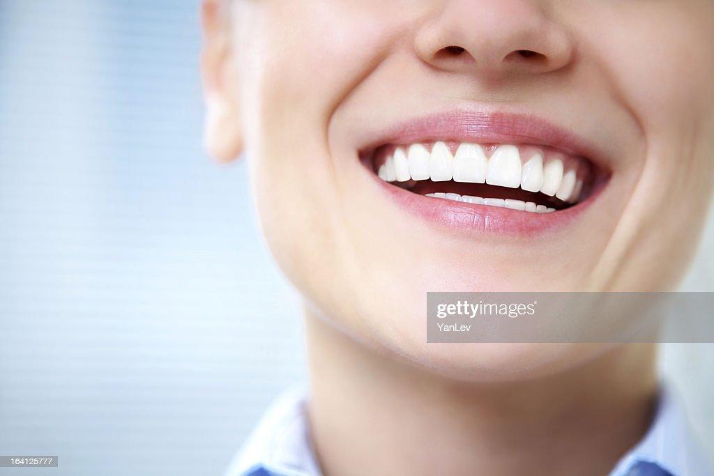 female smile : Stock Photo