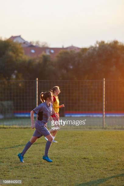 female soccer referee - competitive sport stock pictures, royalty-free photos & images