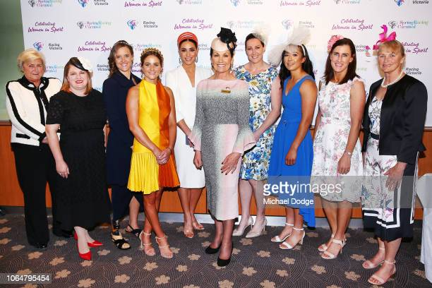Female sporting icons Jana Pittman Jacqui Cooper Shane Gould Nicole Livingstone Darcy Vescio Natalie Young Giann Rooney Criquette Head Michelle Payne...