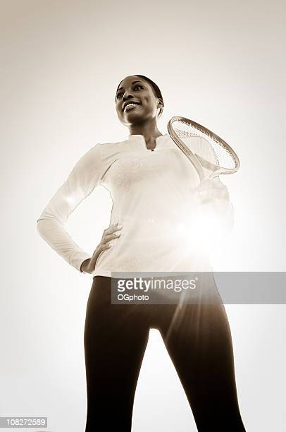 female tennis player - ogphoto stock photos and pictures