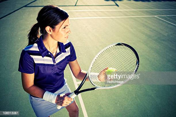 female tennis player - individual event stock pictures, royalty-free photos & images