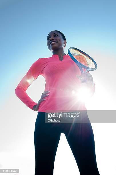 weibliche tennis spieler - ogphoto stock-fotos und bilder