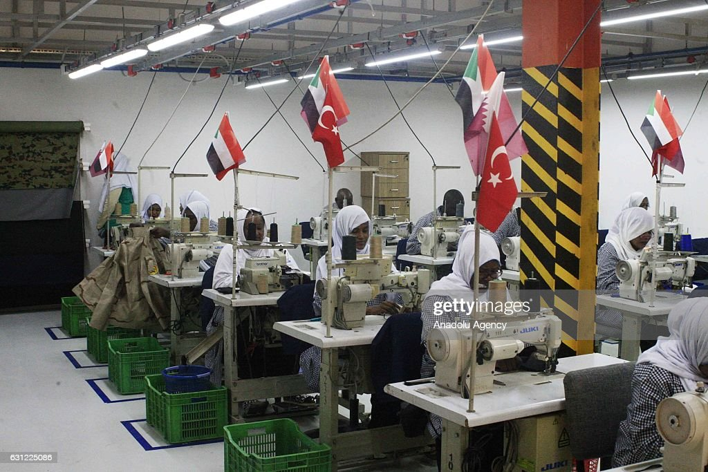 Turkish-Qatar Textile Factory opens in Sudan : News Photo