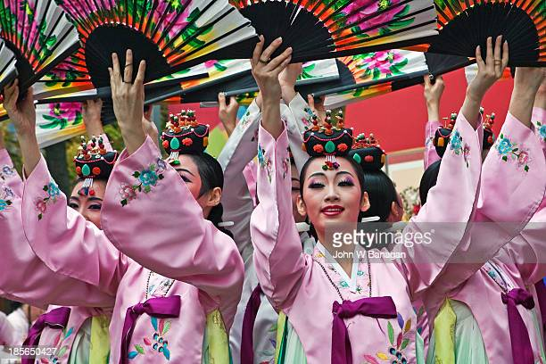 Female traditional performers, Seoul, Sth.Korea