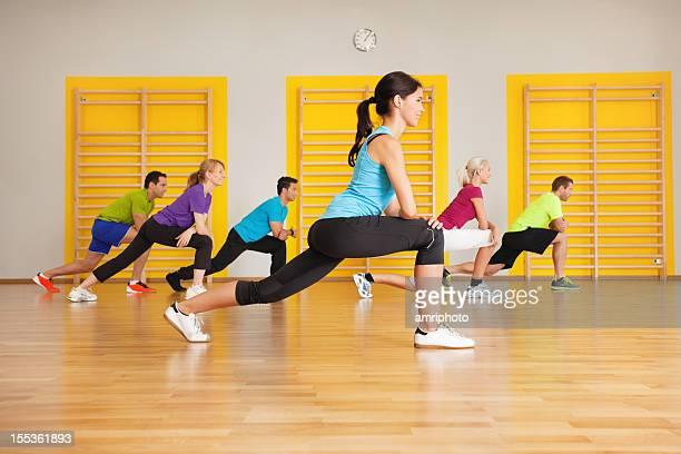雌トレーナーとのスポーツグループ