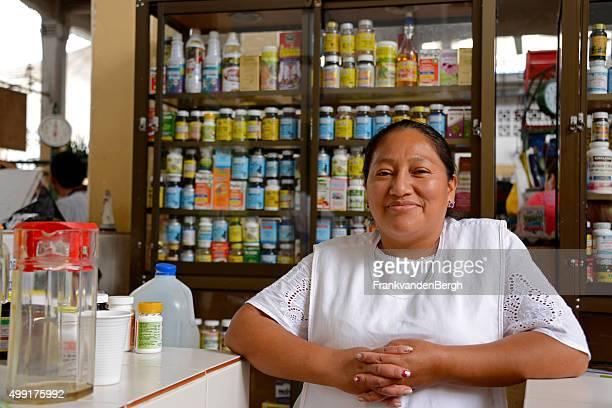 Female vendor