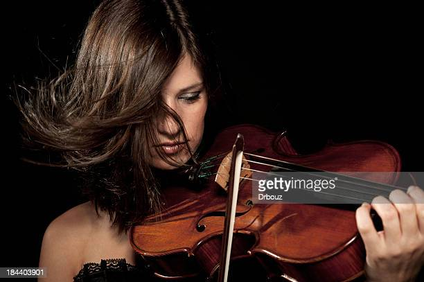 female violist - classical musician stock pictures, royalty-free photos & images
