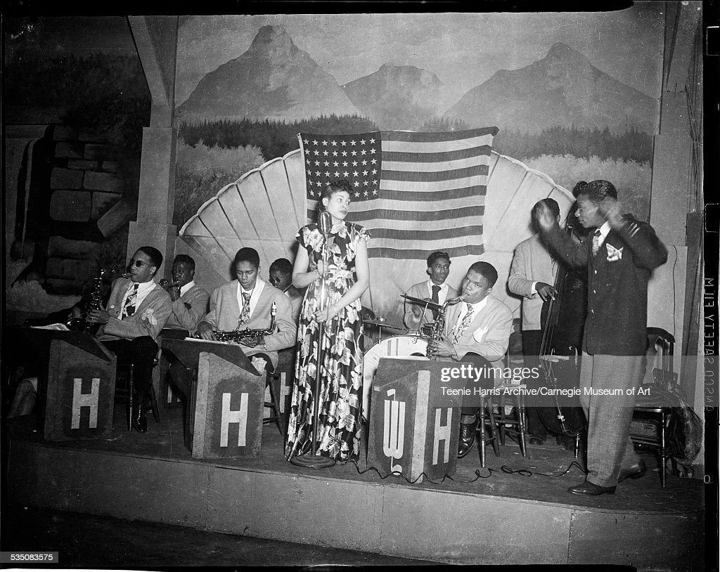Walt Harper Band And Singer : News Photo
