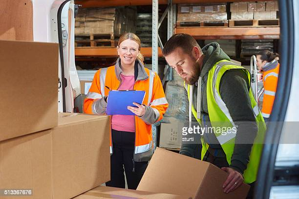 female warehouse supervisor - sturti stock pictures, royalty-free photos & images