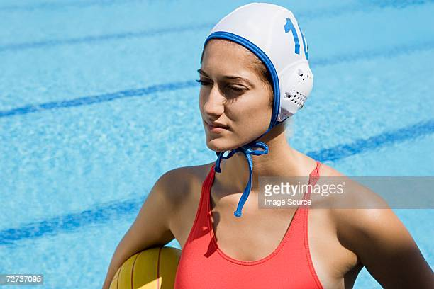 female water polo player - water polo stock pictures, royalty-free photos & images