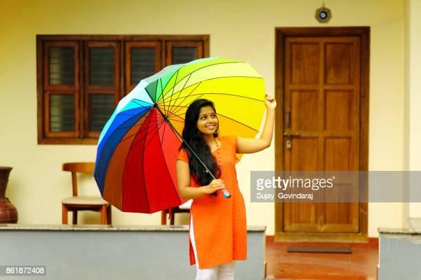 Female With Umbrella