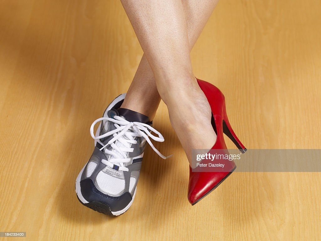 Female work and pleasure : Stock Photo