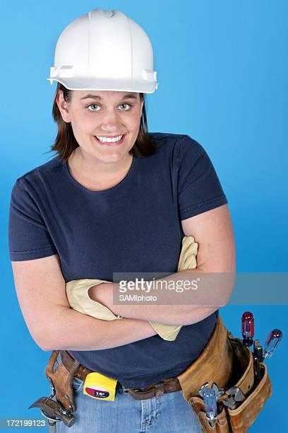 Femme Travailleur