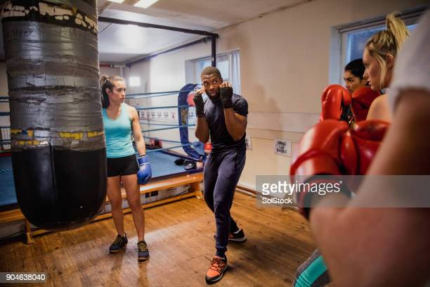 Females Participation in a  Boxing Class