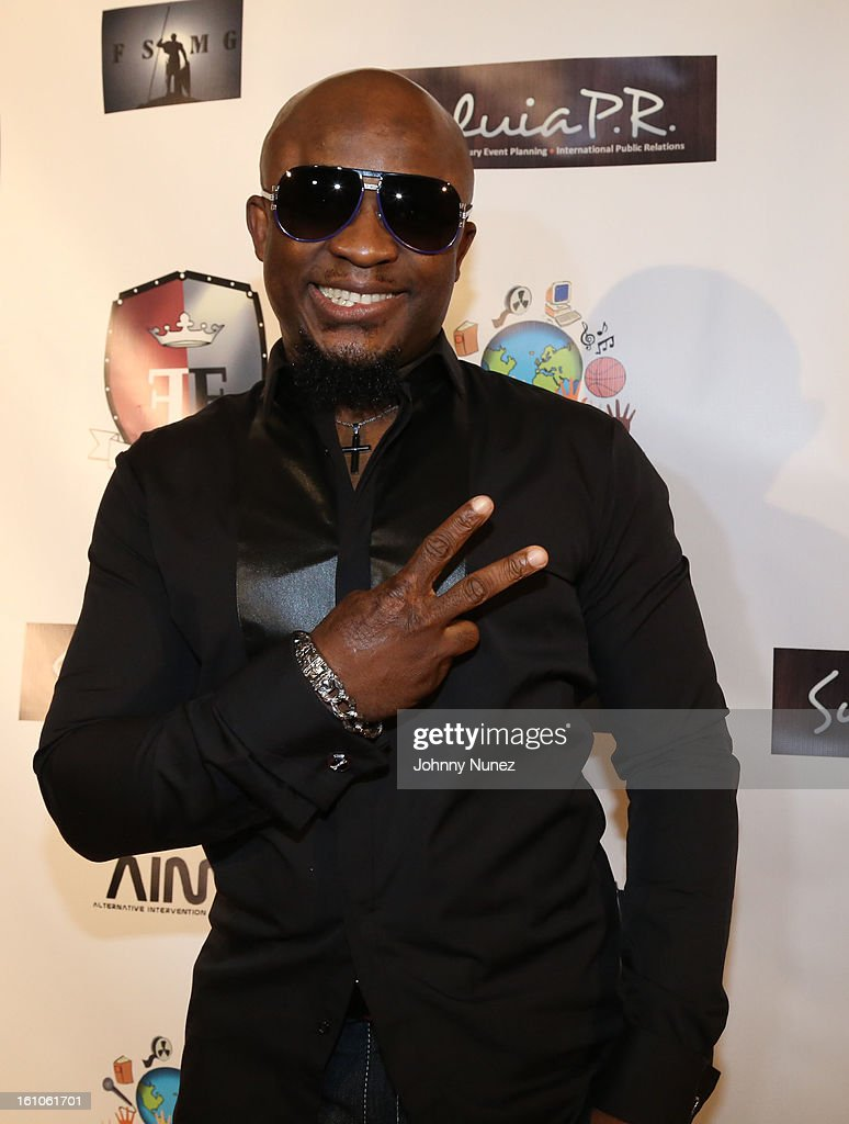 Femi Ojetunde attends the Femdouble Producers Choice Honorees Gala at Bel Air Ship Mansion on February 8, 2013 in Belair, California.