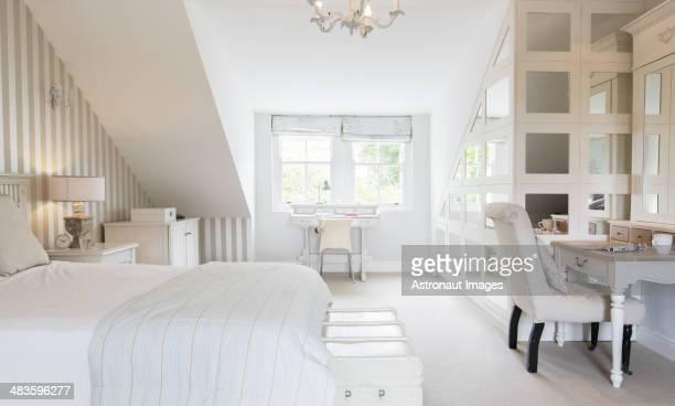 Féminin chambre à coucher