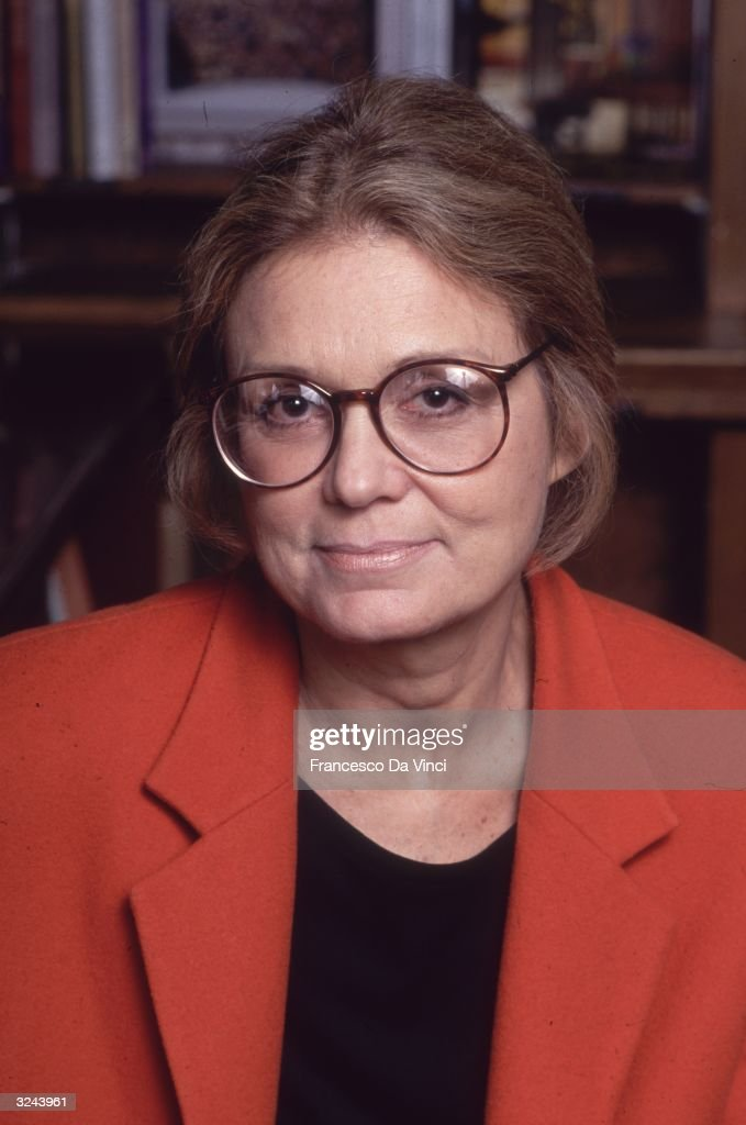 Gloria Steinem : News Photo