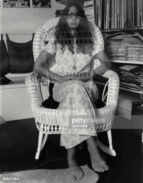 Feminist artist Dotty Attie poses for a portrait circa 1974 in New York City New York