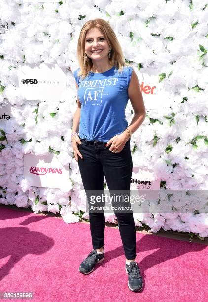 Feminist attorney Lisa Bloom attends the 3rd Annual Amber Rose SlutWalk on October 1 2017 in Los Angeles California