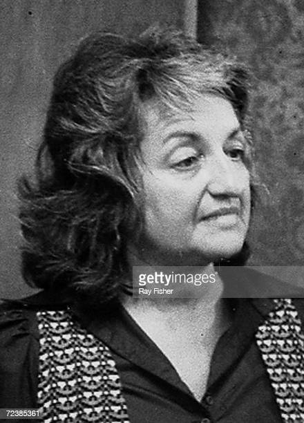 Feminist author Betty Friedan at the Democratic National Convention