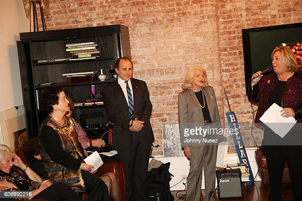 Feminist Press boardmember Barbara Rosen Jim Owles Liberal Democratic Club president and gay activist Allen Roskoff and New York State Assembly...