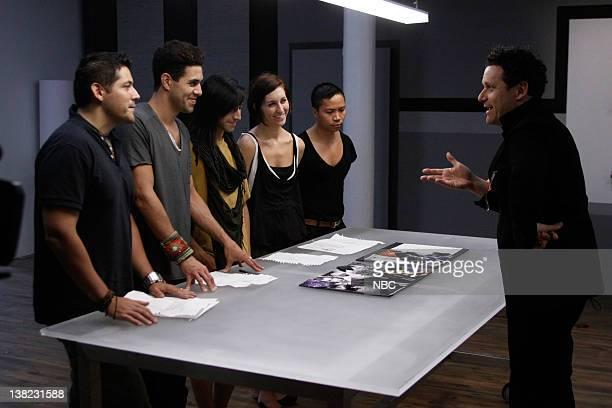 COLLECTION 'Femme Fatale' Episode 203 Pictured Contestants Eduardo de las Casas David Caldwell Rolando 'Ro' Tamez Dominique Pearl David Calvin Tran...