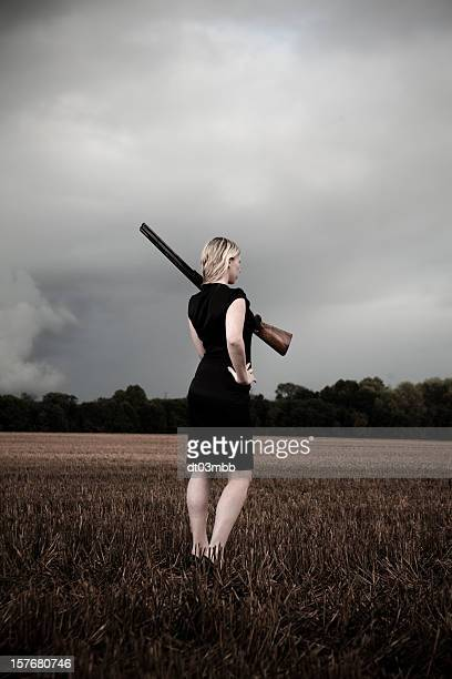 femme fatale - murder scene stock pictures, royalty-free photos & images