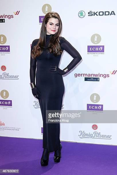 Femme Schmidt attends the Echo Award 2015 on March 26 2015 in Berlin Germany
