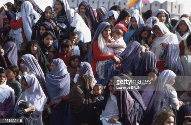 Femmes chiites célébrant la fête du Norouz à Kaboul, le 21 mars 1972, Afghanistan.