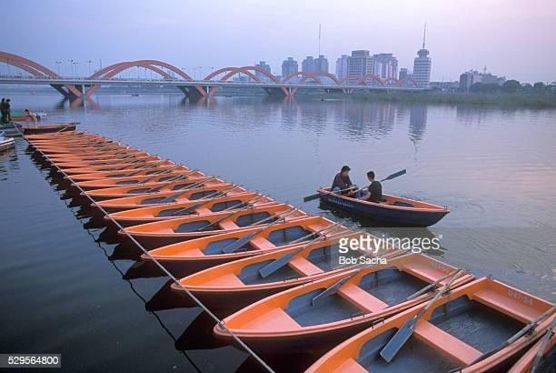 Fen River in Taiyuan