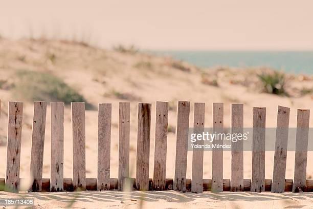 Fence beach