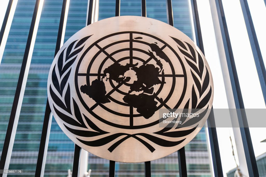 UN Headquarters As 75th Meeting Of General Assembly Begins : ニュース写真