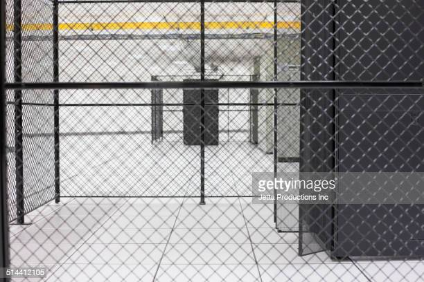 Fence in server room