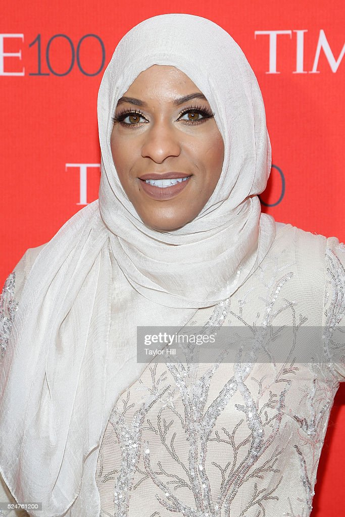 Fencer Ibtihaj Muhammad attends the 2016 Time 100 Gala at Frederick P. Rose Hall, Jazz at Lincoln Center on April 26, 2016 in New York City.