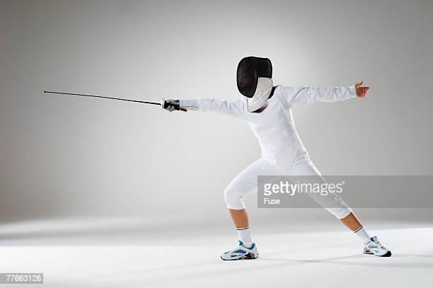 Fencer Thrusting Sword
