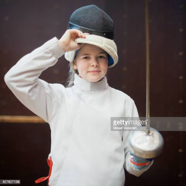 fencing sports with children