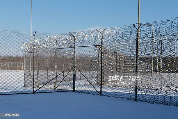 Fencing Surrounding Buckingham Correctional Institution