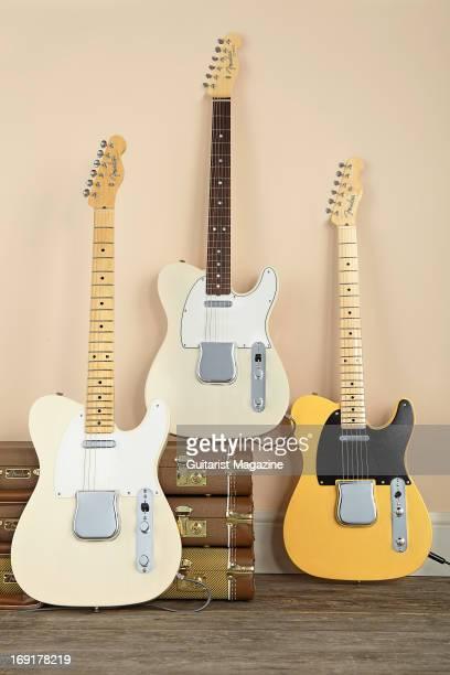 Fender American Vintage '58 Telecaster Fender American Vintage '64 Telecaster and a Fender American Vintage '52 Telecaster taken on October 12 2012