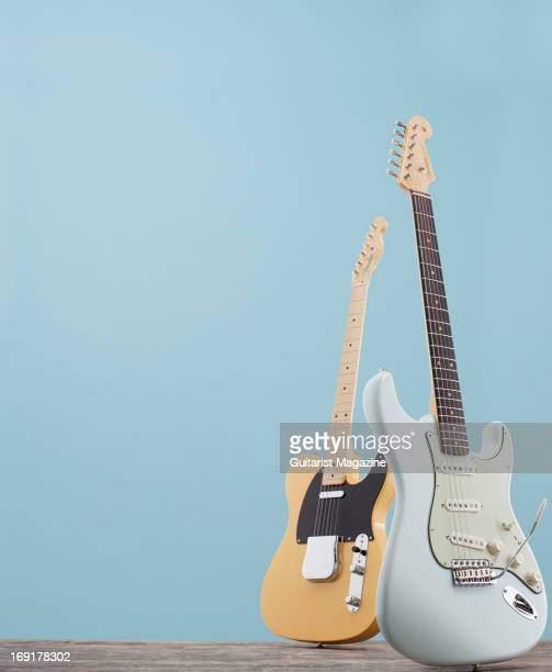 A Fender American Vintage '59 Stratocaster and a Fender American Vintage '52 Telecaster taken on October 23 2012